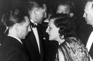 Leni Reifenstahl con Joseph Goebbels