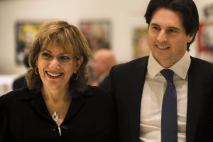 Alberto Panizzoli e Diana Vachier