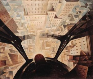Tullio Crali pittura Futurista