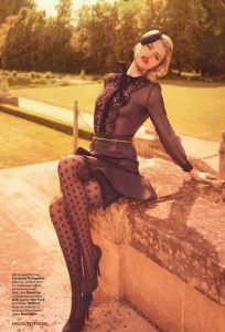 Hailey Clauson Vogue Russia