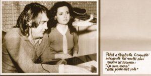 Lorenzo Pilat e Gigliola Cinquetti