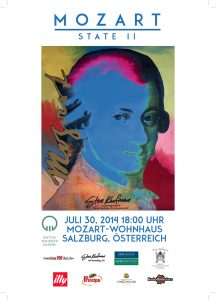Mozart State II 1997 Art Event in Salzburg