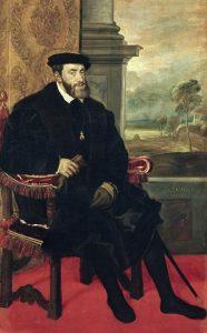 Tiziano, 'Carlo V seduto' (1548)