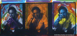 Steve Kaufman Self Portrait