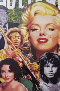 Icons of Pop Art  -Steve Kaufman (detail)