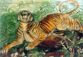 tigre disegno