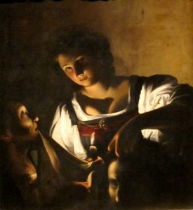 Carlo Saraceni, 'Giuditta con la testa di Oloferne' ( 1618 _ Firenze, Fondazione di Studi di Storia dell'Arte Roberto Longhi)