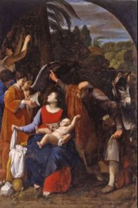 12. Carlo Saraceni, 'Riposo nella fuga in Egitto' ( 1611-1612 _ Monteporzio Catone, Sacro Eremo Tuscolano)
