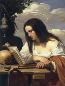 C.Saraceni, Die buessende Maria Magdalena - C.Saraceni / Penitent Mary Magdalene - C. Saraceni/Repentir/Marie-Madeleine