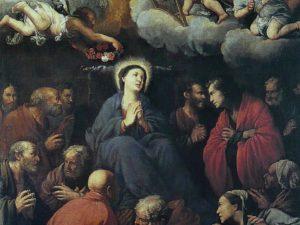 Carlo Saraceni, 'Transito della Vergine' (1610 circa _ Roma, Santa Maria della Scala)
