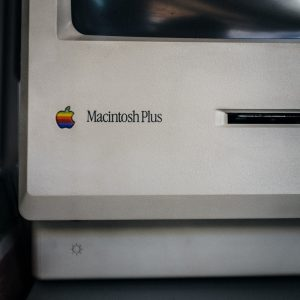 MacIntosh Plus - Computer Art