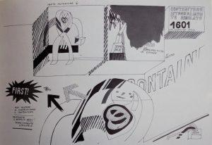 Contenitore integralmente simulato 1601, utilizzazione nulla, 1969 copia