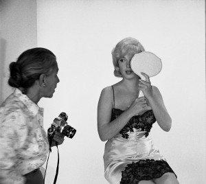 Eve Arnold e Marilyn Monroe
