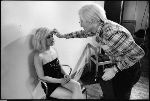 Debbie Harry e Andy Warhol - Pop Art Photography