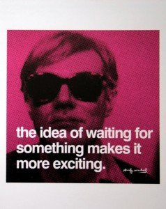 Andy Warhol exciting