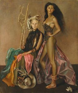 Joy Brown and Margot Fonteyn 1948. Leonor Fini