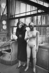Leonor Fini by Henri Cartier-Bresson, 1933