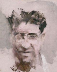 Cesare Pavese - Olio su tela