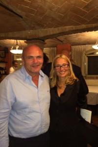 Roberto Casolari con Nicoletta Mantovani