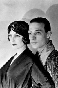 Rodolfo Valentino e Natacha Rambova
