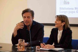 De Sica e Rossana Luttazzi. Ph Nadia Pastorcich