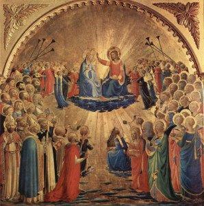 Beato Angelico - Incoronazione della Vergine (Galleria degli Uffizi)