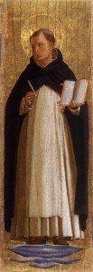 Beato Angelico - San Tommaso d'Aquino (Collezione Cini)
