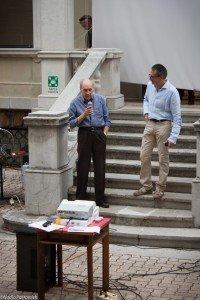 Livio Cecchelin e Piero Ambroset