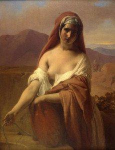 Hayez - Rebecca al pozzo (1848)