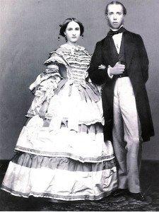Massimiliano e Carlotta fidanzati