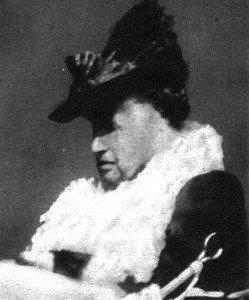 Carlotta nel gennaio 1927