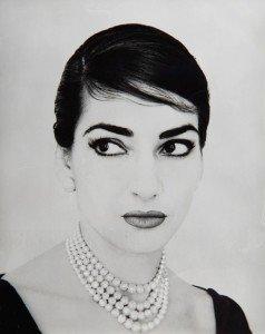 Jerry Tiffany, Ritratto fotografico di Maria Callas, New York, 1958. Collezione Ilario Tamassia.