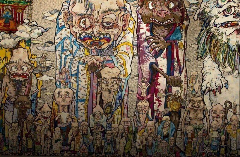 Takashi-Murakami-Il-ciclo-di-Arhat-Installation-view-detail-Palazzo-Reale-Luglio-2014-photo-Francesca-Verga-4.jpg